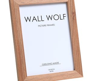 Photo frame Natural Blackwood