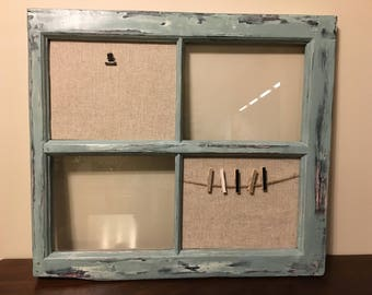 Distressed Window Frame