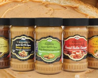 Peanut Butter Greek, spread, 100% from peanuts,