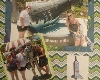 Customized Travel Scrapbook