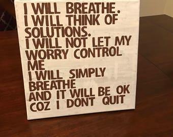 Breathe - quote