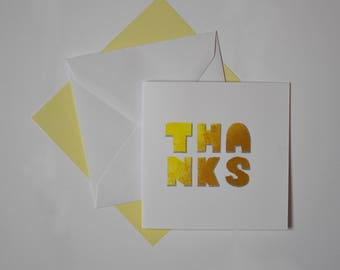 Thank You Card - Pack of 3