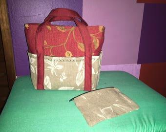 Box Bag Collection- Medium Size Purse