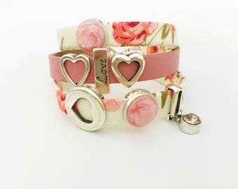 LENA MIX & MATCH leather bracelet