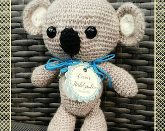 "Crochet plush toy ""Fritz the Koala"""