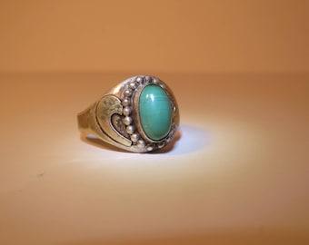 Vintage Light Turquoise Ring
