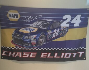 Chase Elliott Wall Flag