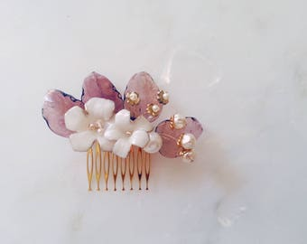 Small comb bridal LUISA