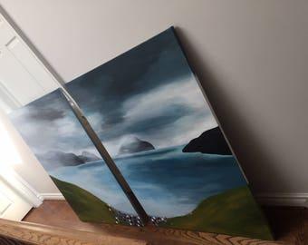 Original Artwork of The Faroe Islands