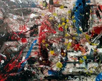 Levels - original Abatraktes acrylic paintings, contemporary art, modern, original, handmade