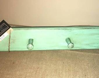 Repurposed Peg Shelf