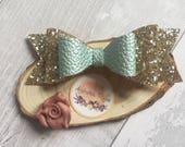 Antique Mint Bow