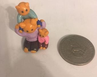 Miniature Cat Family