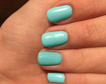Nail wraps, Mint nail wraps, custom colored nails, nail polish wraps, mint green nail wraps, pastel nail wraps,custom nail wraps