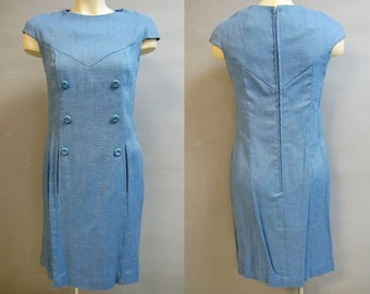 2 Cute Vintage 1960's London Style Dresses, WHOLESALE PRICE, size Small 3/4