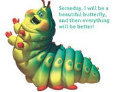 Heimlich the caterpillar from Bug's Life dress