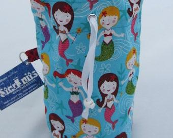 Mermaid Girl WIP Bag