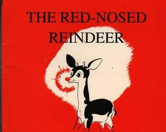 Rudolph the Red-Nosed Reindeer - Robert L. May - Denver Gillen - 1990 - Vintage Kids Book