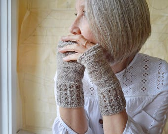 Spindler Mitts Knitting Pattern PDF