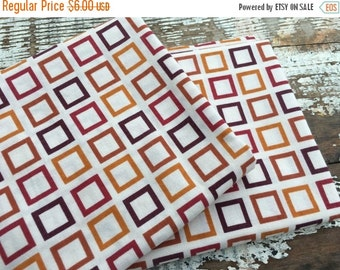 SALE- Modern Retro Fabric-Reclaimed Bed Linens Fabric