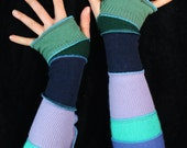 Arm Warmers - 100% CASHMERE - made from upcycled sweaters