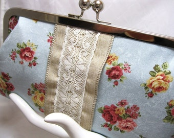 Coupon Organizer Cash Envelope System Romantic Lace Blue