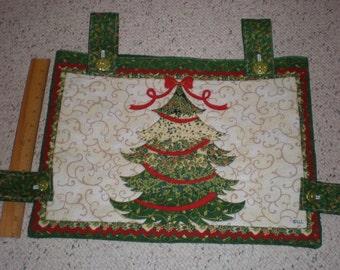 Christmas Tree Holiday Print Walker Bag