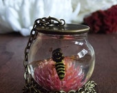 Wasp & Blossom Necklace