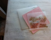 """DESTASH """"Curly Sentiments"""" •my acrylix stamps• Close to my heart C1056"""