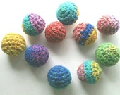 Cat and Ferret Crinkle Ball Toys, Unique Balls Toy, Rainbow Colors, Gift for Cats and Ferrets
