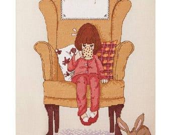 Hot chocolate Cross Stitch Pattern Downloadable PDF Make a wish