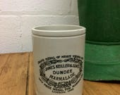 James Dundee marmalade pot