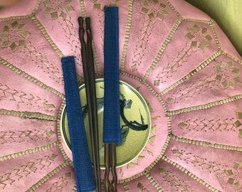 Wooden chopstick with hemp envelop