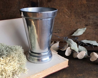 Solid Aluminum Julep Cup - made by S. N. ENT. INC