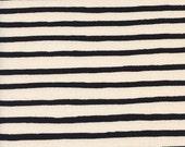 Cotton + Steel Wonderland - cheshire stripe - cream - 50cm