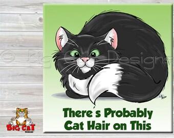 CAT SPOON REST - Cat Tile - Cat Trivet - Funny Cat Saying - Cat lover gift - Cat sign -  Cat Lady Gift