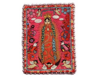 Guadalupe Mexican Art Quilt