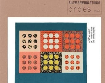 SLOW SEWING Studio - Circles #1401 Quilt Pattern - Carolyn Friedlander Pattern