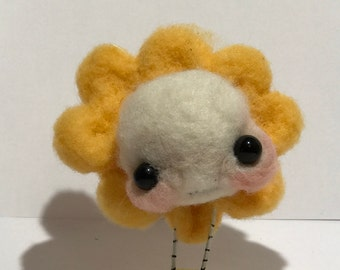 Sweet spring flower Ooak   art doll