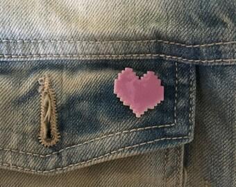 donkey kong heart pin