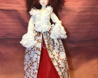 OOAK Custom Cinaed MSD Dz Carter-1 Aod Body BJD Doll