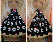 Mystery Elf Tiny BJD Killer Cute Babydoll Dress by Tickled Pink by Julie