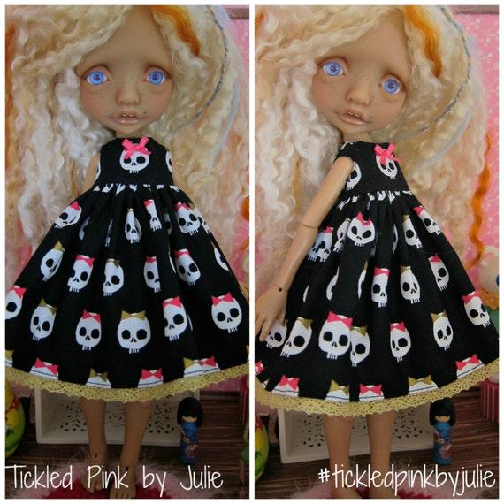 Mystery Elf Tiny BJD Killer Cute Babydoll Dress by Tickled Pink by Julie