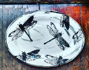 Dragonfly Platter - Large