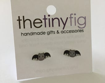 Last Pair* Bat Earrings | Sterling Silver Posts Studs | Gifts For Her