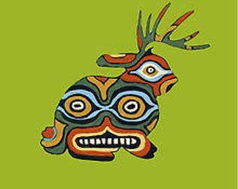 Masked Jackalope