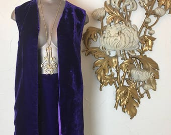 1960s 2 piece skirt set purple velvet 1960s outfit size small vintage dress skirt and top mod set mini skirt