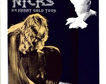 Stevie Nicks / Pretenders 2016 Tour Screen Print Concert Poster by Print Mafia®