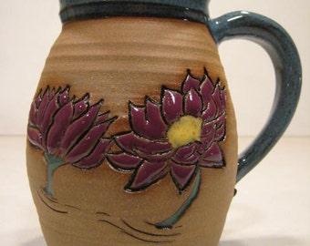 Lilly Blossom Mug ........             LEFTY-              a70