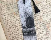 Cheshire Cat Bookmark Alice In Wonderland Fantasy Cat